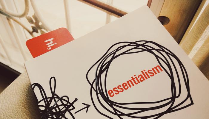 Esencializmas – Metodas užsiimti mažiau